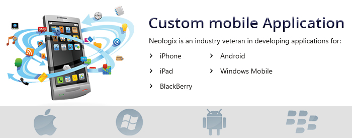 Custom Mobile Applications Development Services
