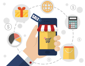 M-Commerce in retail industry